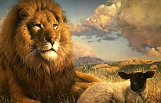 The Lion and the Lamb: a parable