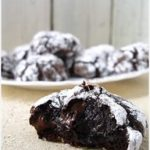 Double Chocolate Crinkle Cookies – Weekend Sweets