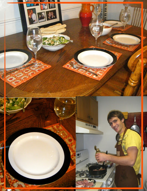 Getting Excited For Halloween: dinner parties and pumpkin carving