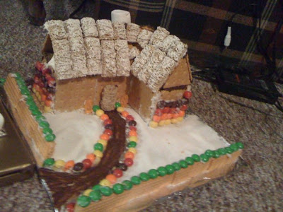 Then and Now: Gingerbread House Edition