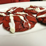 Lizzie's Kitchen: Red Velvet Chessecake Cookies