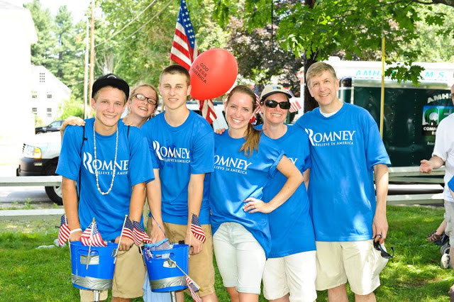 4th of July With Romney