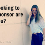 You Should Only Sponsor Me If…