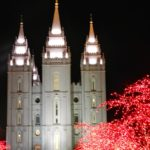 Temple Square Lights and Chaos