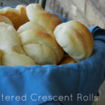 How to become the favorite dinner guest: Buttered Crescent Rolls