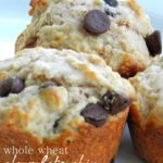 Perfect Morning Muffins: Whole wheat chocolate chip