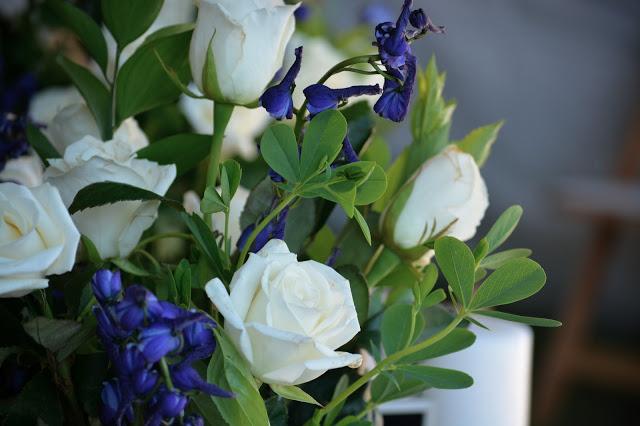 Preview of Olivia's Wedding: A Blue and White New England Affair