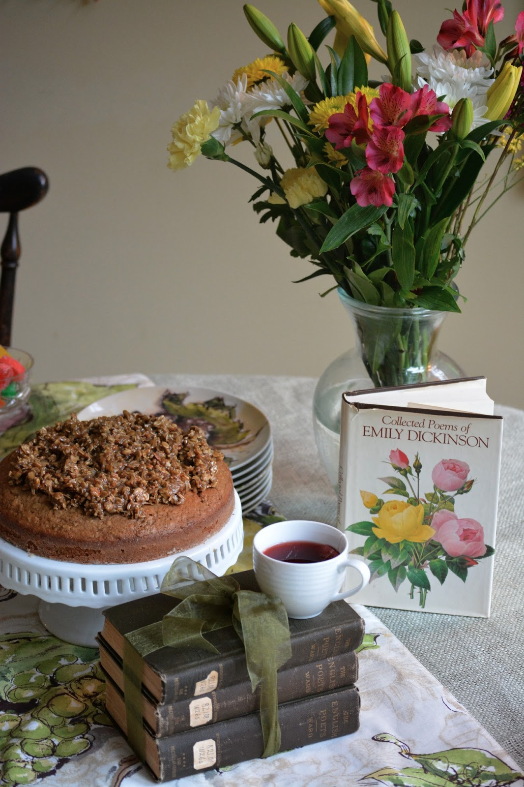 Father's Day Poetry Herbal Tea Party