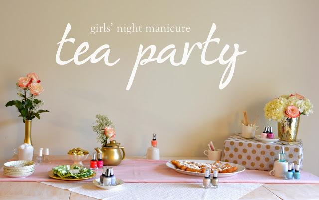 sally hansen tea party