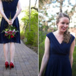 Blue Bridesmaid Look: Secret Garden