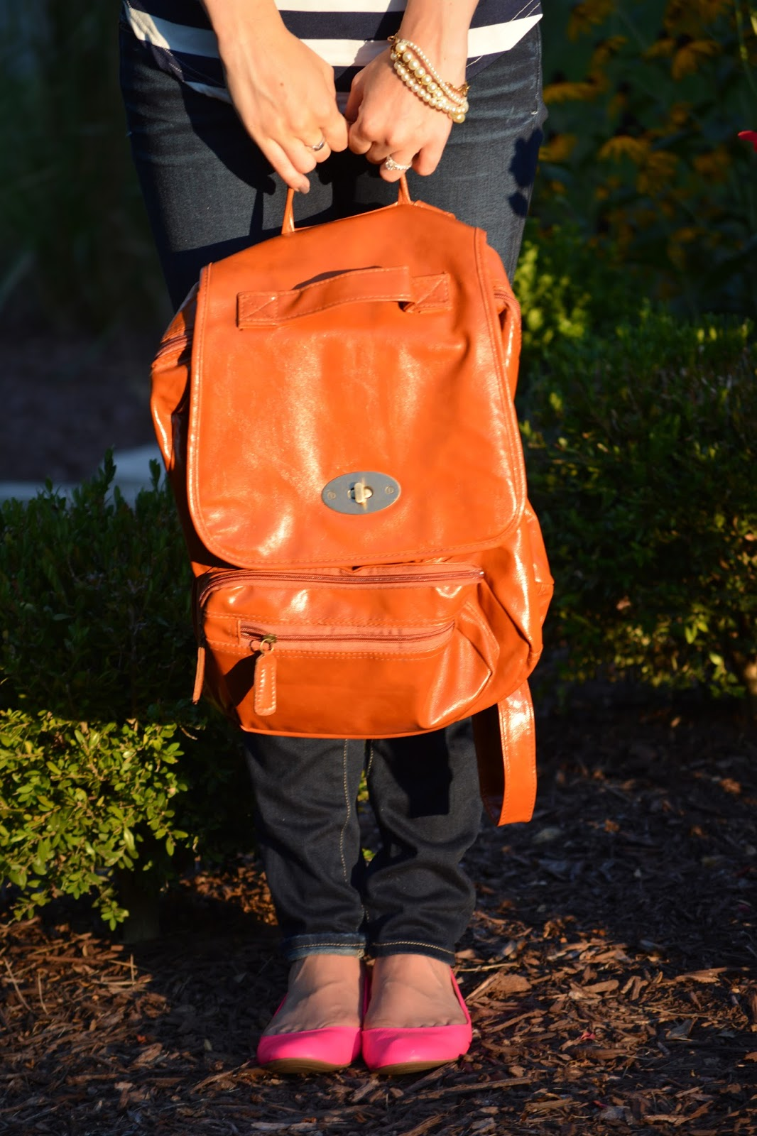 Choosing Happy: Leather in the Setting Sun