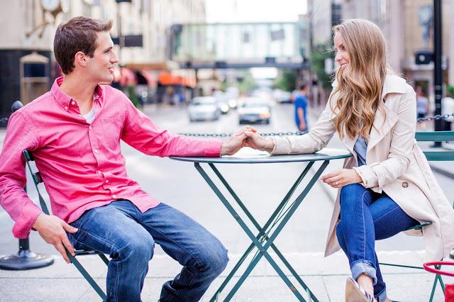 cincinnati engagement fountain square