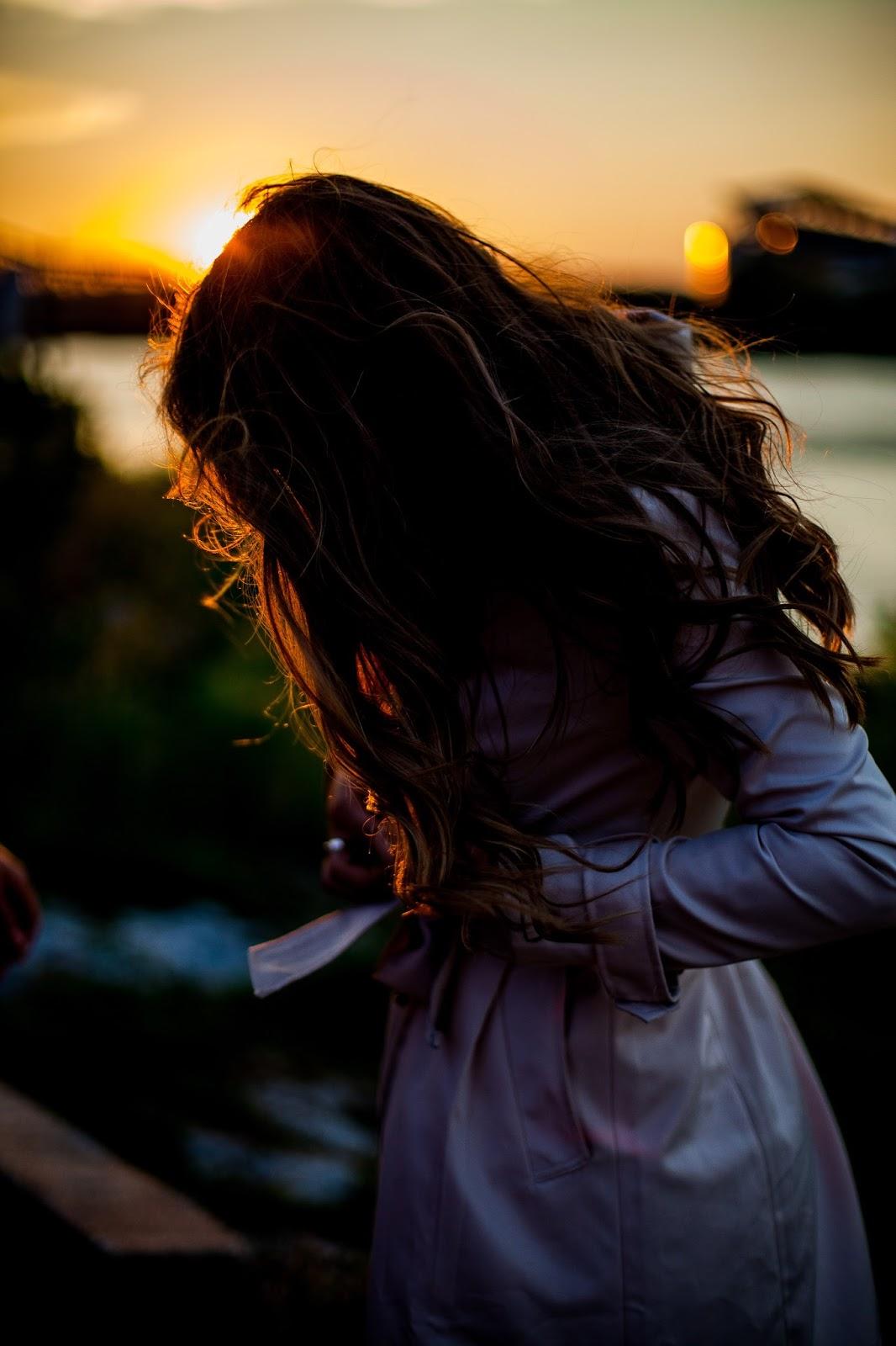 cincinnati sunset engagement shoot