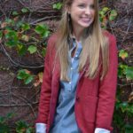 Chambray goes Fall with Lands End + $200 giveaway