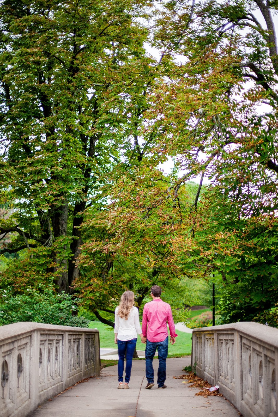 Afternoon in the Park: Cincinnati Anniversary Shoot