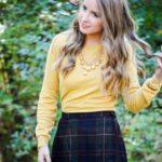 Tartan Wool + Mustard