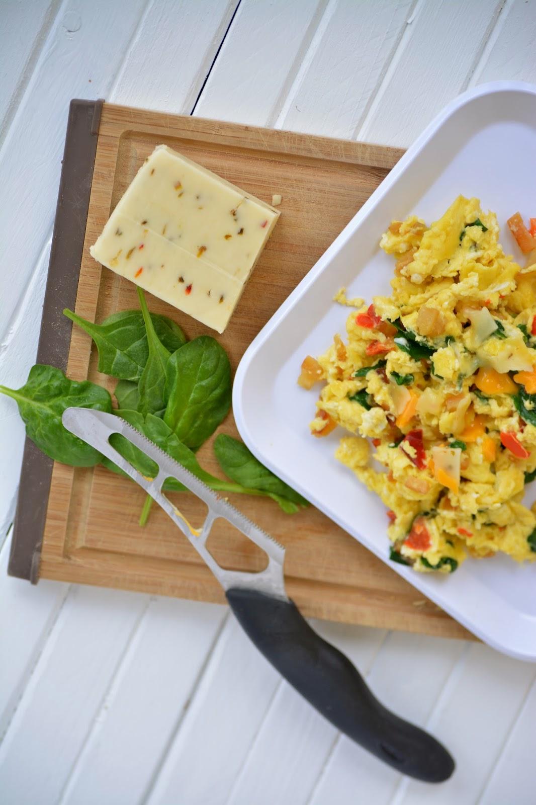 easy breakfast omelet