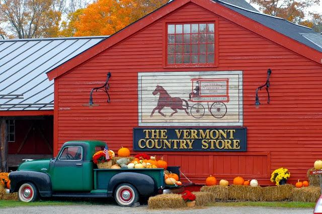 Fall Hits New England