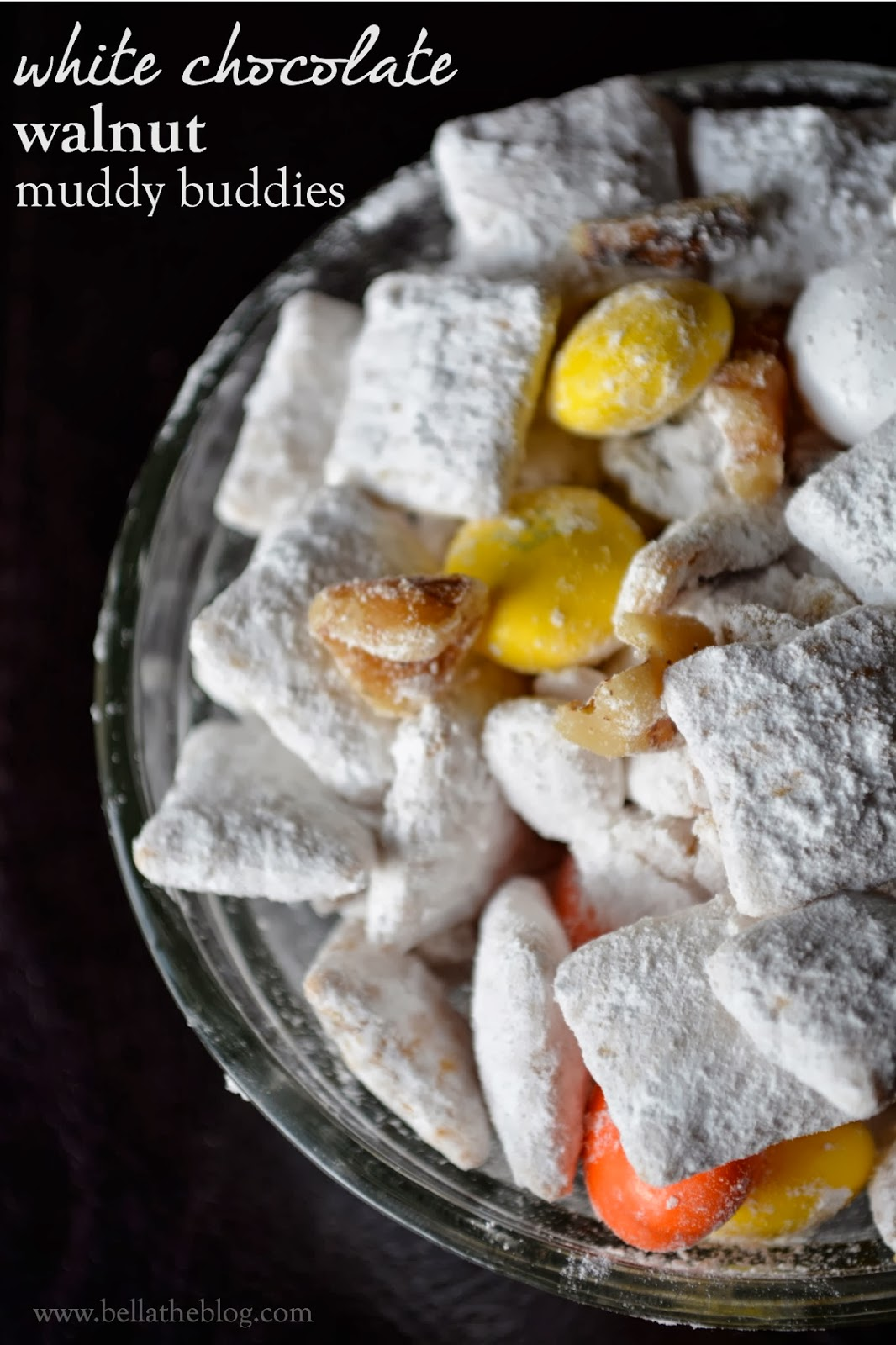 Fall Treats: White Chocolate Walnut Muddy Buddies
