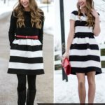 Little Striped Dress // Special Occasion Style