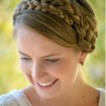 Uneven Milkmaid Braids Tutorial