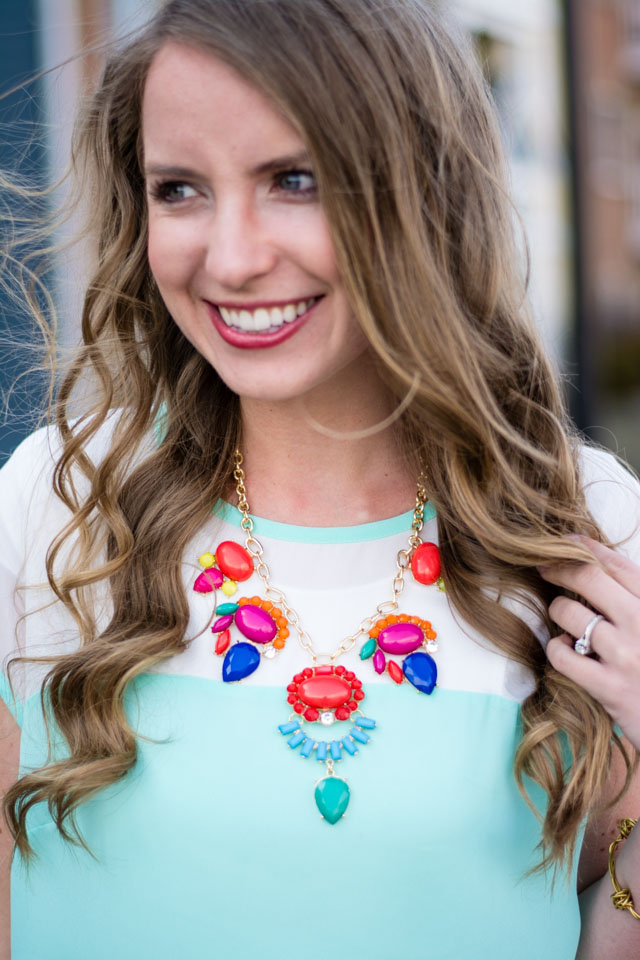 Lilies and Fillies: Loose Blouses Up and Down