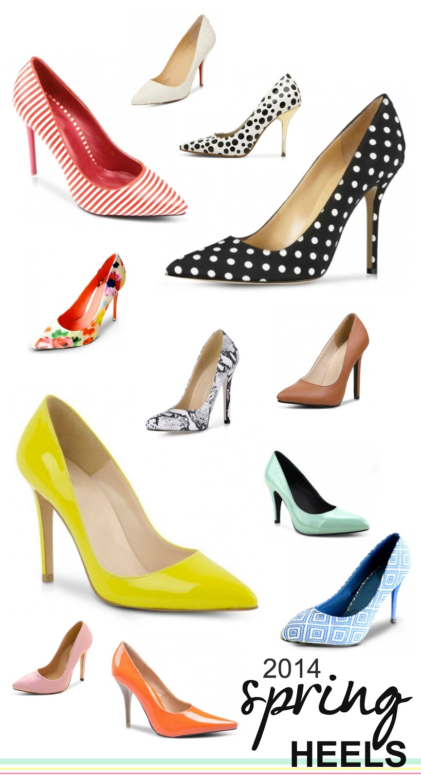 15 Heels For Spring 2014 Elisabeth Mcknight