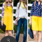 Spring Fashion: 3 Ways to Wear Yellow