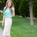 Lace, Mint, and Gratitude