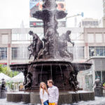 Cincinnati Favorites: Fountain Square with Saks Fifth Avenue