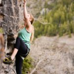 Falling for Ben + Rock Climbing With the Best Deodorant For Sports