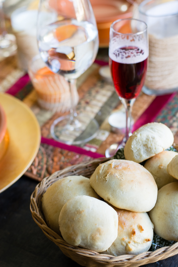 QUICK AND EASY 30 minute rolls -- they're yeast rolls that take 30 minutes start to finish ... they work just as well for quick dinners as they do for formal get-togethers