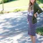 Maternity Style // Fall Pattern Mixing