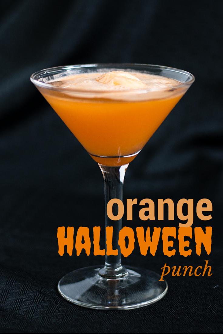 Easy Halloween Punch with Fanta | Elisabeth McKnight