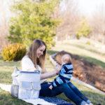 Outdoor fun + Boppy Diaper Bag Review