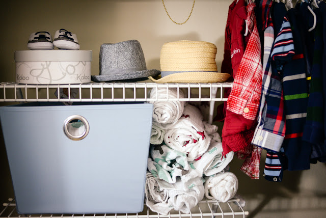 Baby Organization Tips + Nursery Peek