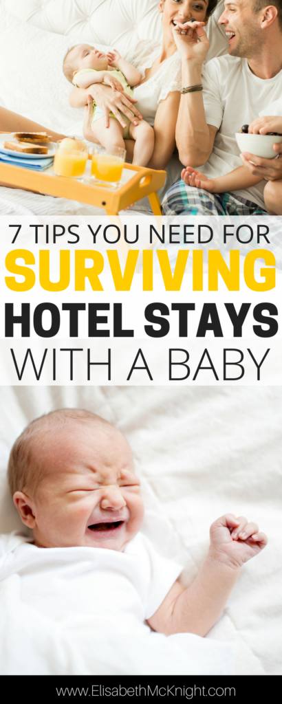 upcoming trip with little ones? these tips are SO HELPFUL for getting through traveling + hotel stays with babies and toddlers - especially number 1