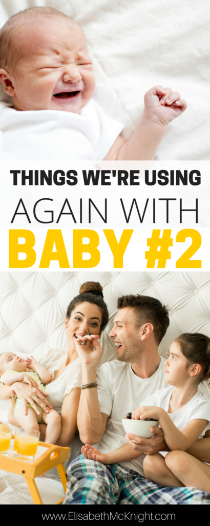 expecting baby #2? love this list of things to do again with your second child