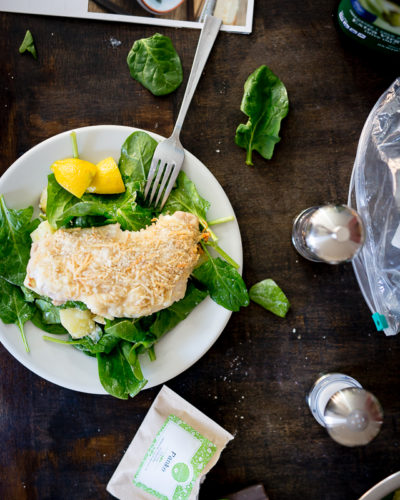 Crispy Chicken Parmigiana Salad Recipe from Hello Fresh