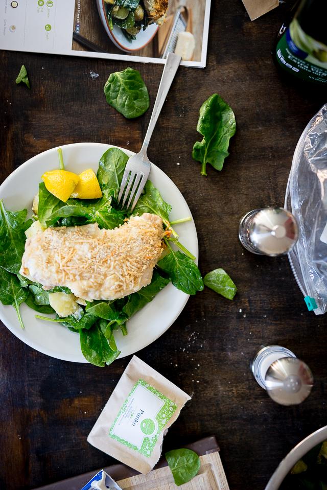 Crispy Chicken Parmigiana Salad Recipe from Hello Fresh