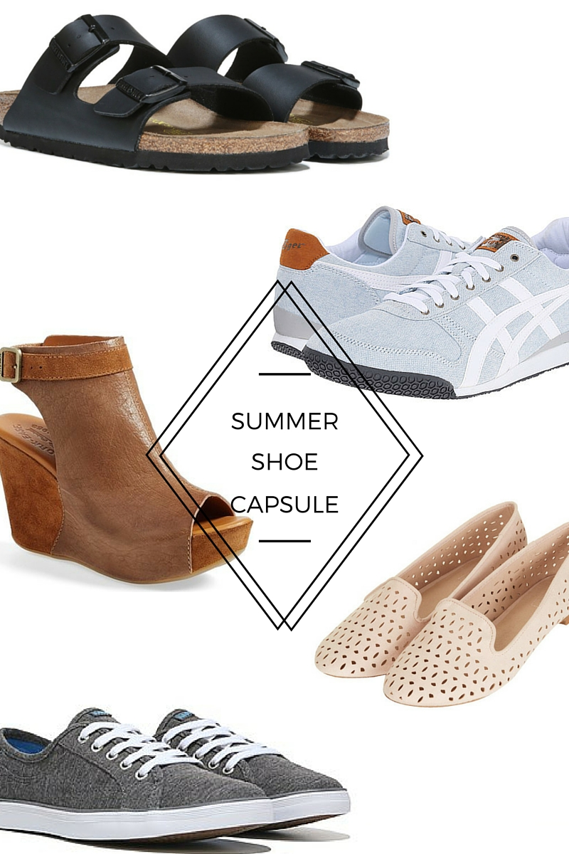 Summer Shoe Capsule: 5 Shoes Every Mom Needs This Summer
