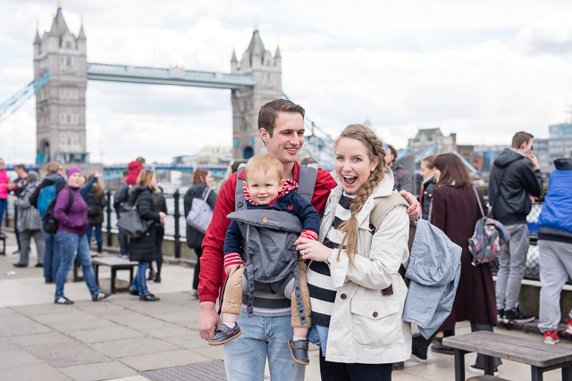 a day in London with a toddler