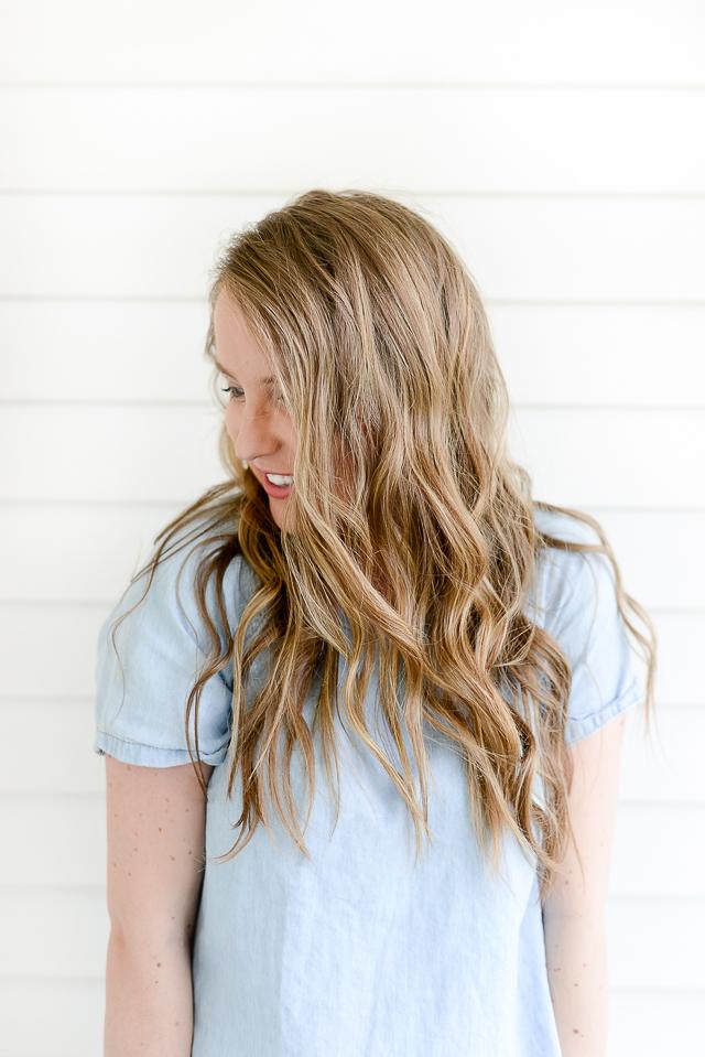 Easy Summer Hair Loose Beach Waves Elisabeth Mcknight