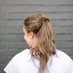 Sea Salt Texture Spray + An Easy Messy Pony