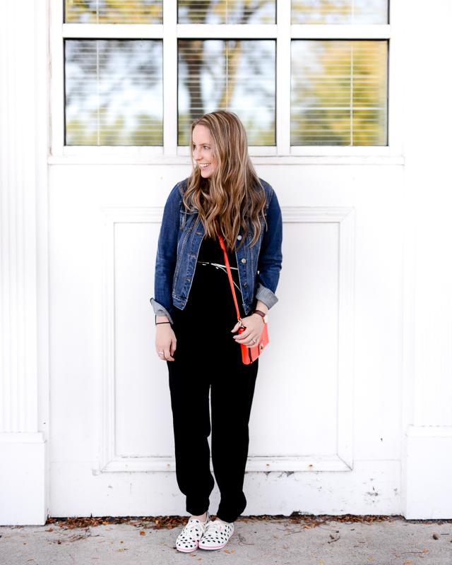 Two Ways To Wear A Jumpsuit Post Partum Style Talk Elisabeth