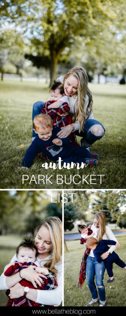 such a great list of fun activities to do at the park with toddlers!