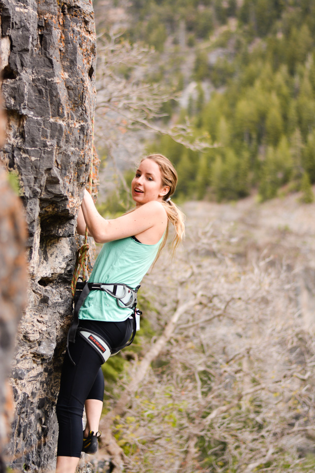 Falling for Ben + Rock Climbing With the Best Deodorant For Sports by Boston lifestyle blogger Elisabeth McKnight