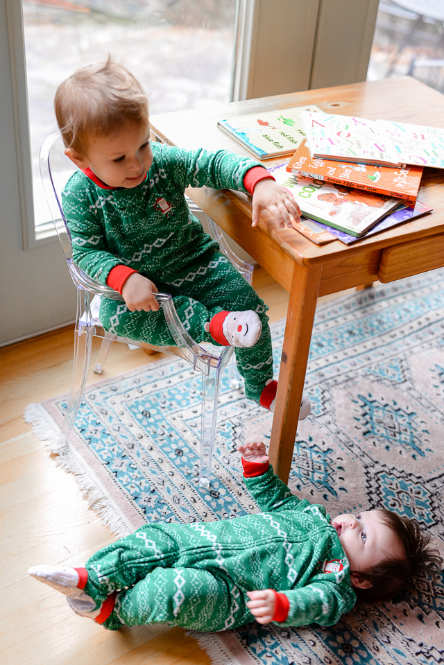 cute matching Christmas pajama idea!