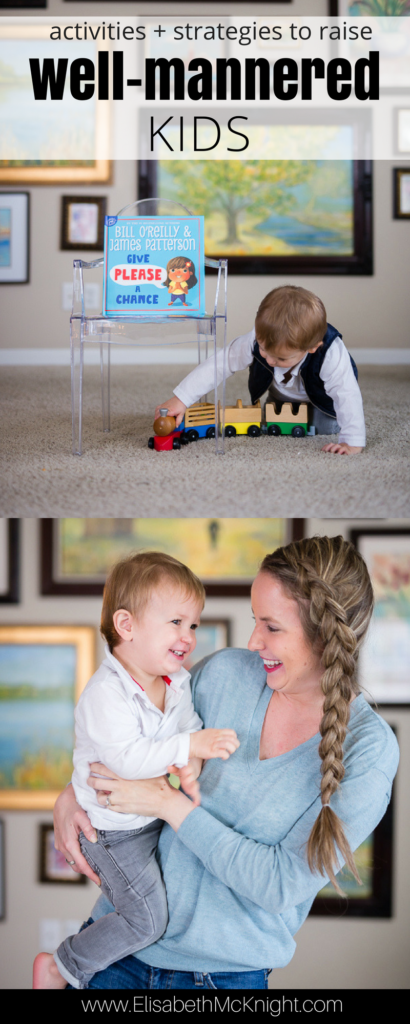 great tips and activities for teaching manners to your toddler