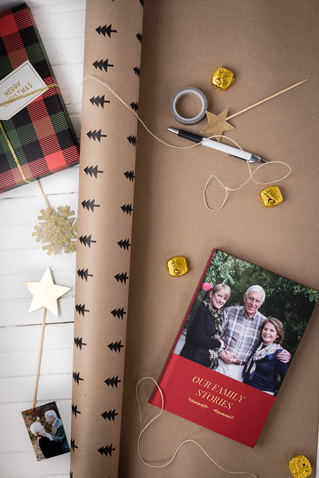 perfect last minute christmas gift for your in laws, grandparents, or any family member on your list. they'll love this thoughtful way to connect and it's a present they'll cherish for years!